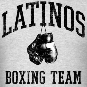 Latinos Boxing Team Hoodies - Men's T-Shirt