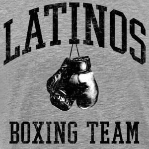 Latinos Boxing Team Hoodies - Men's Premium T-Shirt