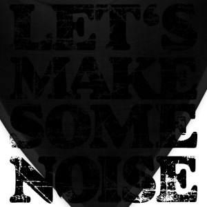 LET'S MAKE SOME NOISE T-Shirt (Men Yellow/Black) - Bandana