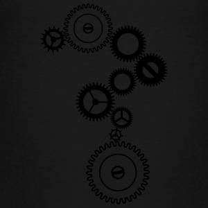 Metallic gears Kids' Shirts - Toddler Premium T-Shirt