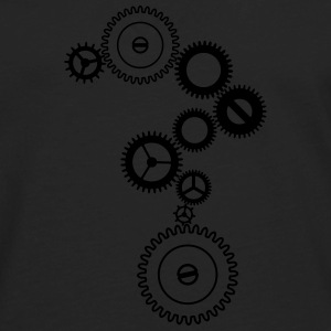 Metallic gears T-Shirts - Men's Premium Long Sleeve T-Shirt