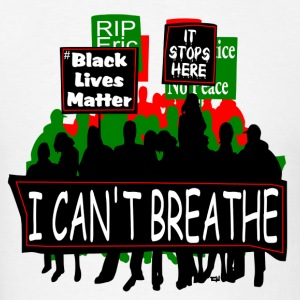 Protest T-Shirt Red Black Green - Men's T-Shirt