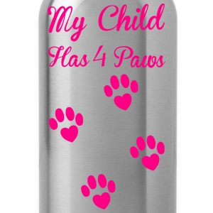 Paws T-Shirts - Water Bottle