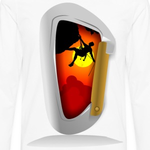 carabiner - Men's Premium Long Sleeve T-Shirt
