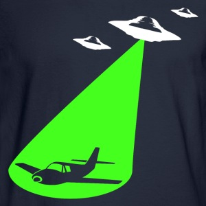 Airplane & UFOs - Men's Long Sleeve T-Shirt
