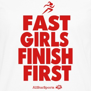 FAST GIRLS  FINISH FIRST Hoodies - Men's Premium Long Sleeve T-Shirt