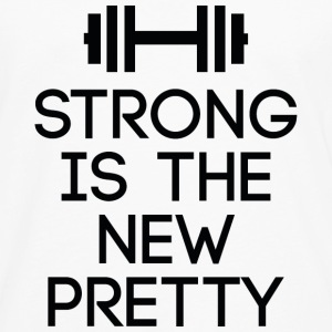 Strong Is The New Pretty - Men's Premium Long Sleeve T-Shirt