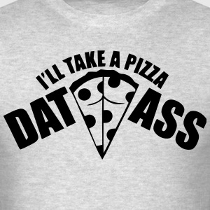 Pizza Dat Ass MP Long Sleeve Shirts - Men's T-Shirt