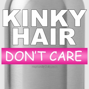Kinky Hair Don't Care - Water Bottle
