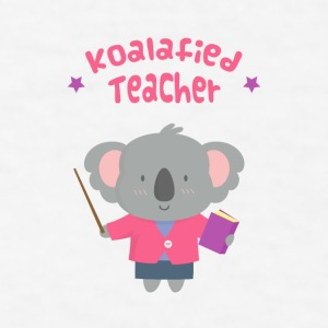 Cute Koala Bear Teacher Mugs & Drinkware - Men's T-Shirt
