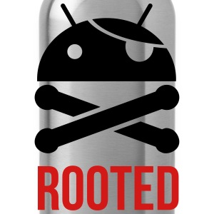 ANDROID ROOTED MEN GILDAN T SHIRT - Water Bottle