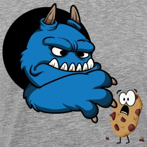 Cookie monster Hoodies - Men's Premium T-Shirt