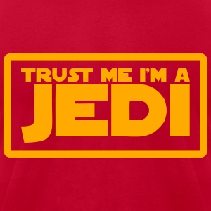 Trust Me I'm A Jedi Hoodies - Men's T-Shirt by American Apparel