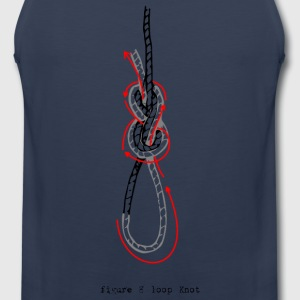 figure of eight knot - Men's Premium Tank