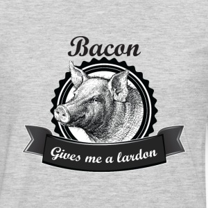 Bacon Gives me a Lardon T-Shirts - Men's Premium Long Sleeve T-Shirt