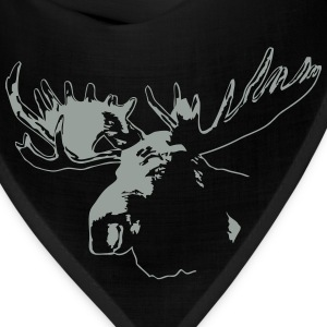 moose - elk - hunting - hunter Hoodies - Bandana