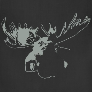 moose - elk - hunting - hunter T-Shirts - Adjustable Apron