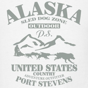 Husky - dog sled - Yukon Quest - Alaska  Tanks - Men's T-Shirt