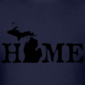HOME - Michigan Hoodies - Men's T-Shirt