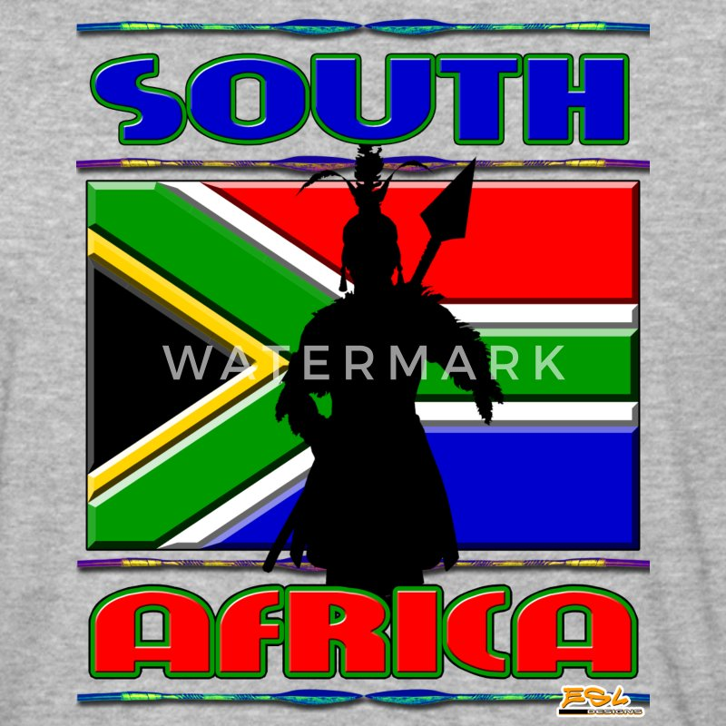 SOUTH AFRICA - Baseball T-Shirt