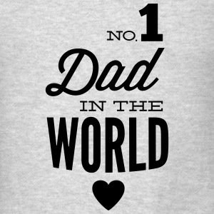 no1 dad of the world Tanks - Men's T-Shirt