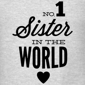 no1 sister of the world Tanks - Men's T-Shirt