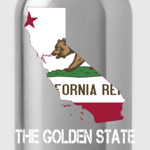 The Golden State California - Water Bottle