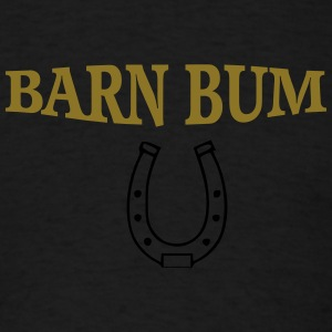 Barn bum flow tank horseshoe - Men's T-Shirt