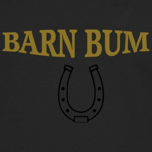Barn bum flow tank horseshoe - Men's Premium Long Sleeve T-Shirt