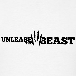 Unleash the Beast Bodybuilding Tanks - Men's T-Shirt