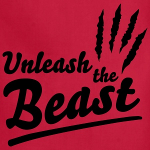Unleash the Beast Women's T-Shirts - Adjustable Apron