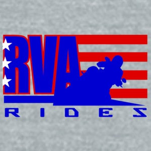 RVA Rides Water Bottle - Unisex Tri-Blend T-Shirt by American Apparel
