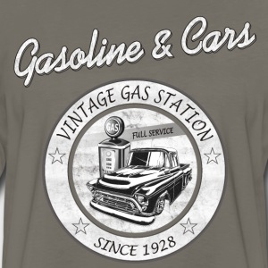 Vintage Gasoline & Cars T-Shirts - Men's Premium Long Sleeve T-Shirt