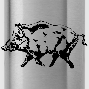Boar - Hunting - Hunter Hoodies - Water Bottle
