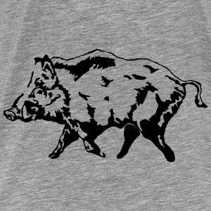 Boar - Hunting - Hunter Hoodies - Men's Premium T-Shirt