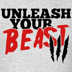 Unleash your beast Tank Tops - Men's T-Shirt
