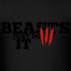 Beasts just do it Hoodies - Men's T-Shirt