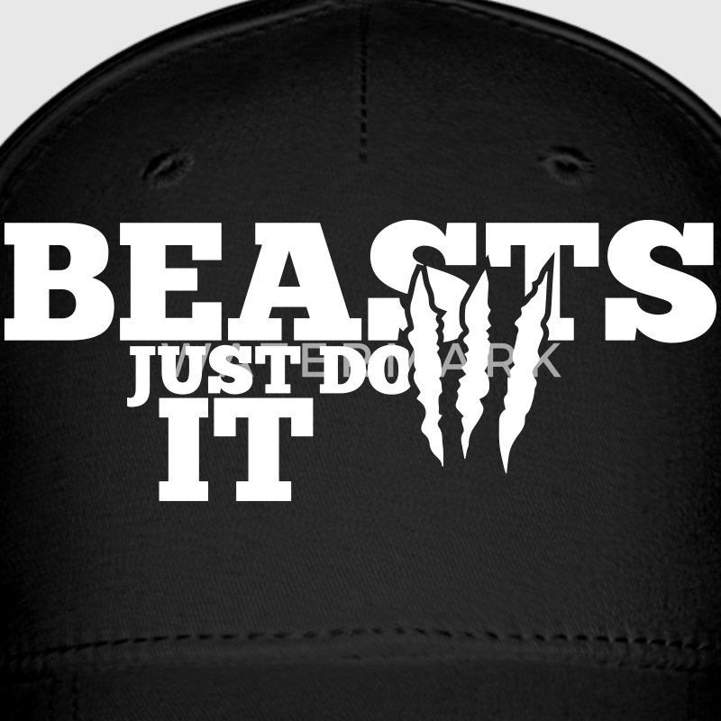 Beasts just do it Caps - Baseball Cap