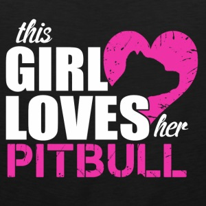 Pitbull love Hoodies - Men's Premium Tank