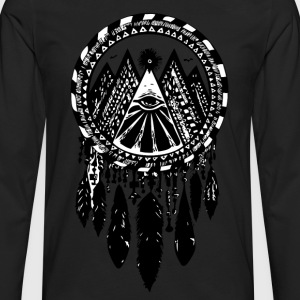 Aztec sky dream - Men's Premium Long Sleeve T-Shirt