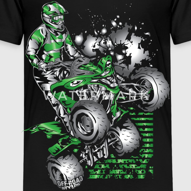 Yamaha ATV Grunge Quad Baby & Toddler Shirts - Toddler Premium T-Shirt