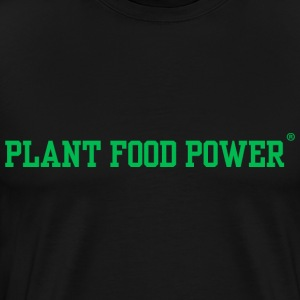Plant Food Power Long Sleeve Shirts - Men's Premium T-Shirt