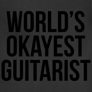 World's Okayest Guitarist T-Shirts - Adjustable Apron