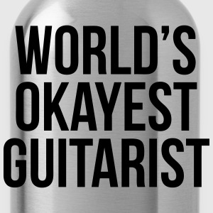 World's Okayest Guitarist T-Shirts - Water Bottle