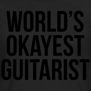World's Okayest Guitarist T-Shirts - Men's Premium Long Sleeve T-Shirt
