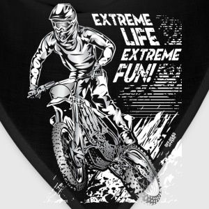 Motocross Extreme Fun Women's T-Shirts - Bandana