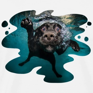 Underwater Dogs Duch by Seth Casteel Tanks - Men's Premium T-Shirt