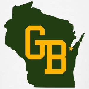 GB - Wisconsin Hoodies - Men's T-Shirt