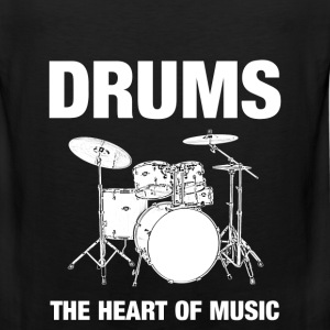Drums The Heart - Men's Premium Tank