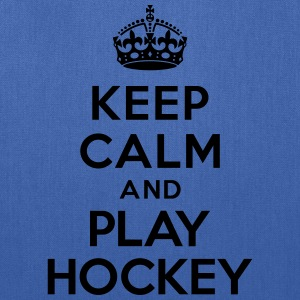 Keep calm and play hockey Kids' Shirts - Tote Bag